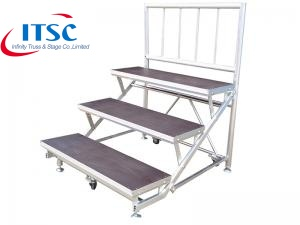 Aluminum stage risers supplier