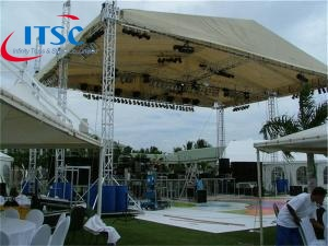 metal Stage trusses