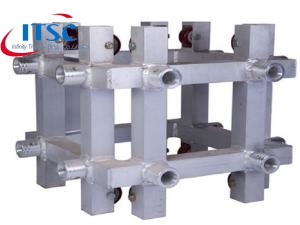 Truss sleeve block for ground support