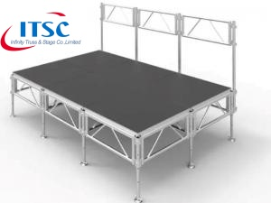 adjustable stage platform